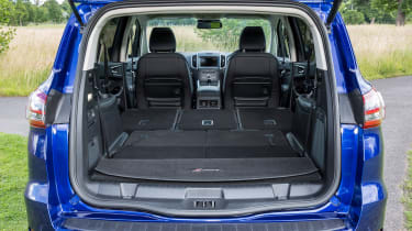 Four-wheel drive systems can sometimes impinge on boot space but that's not the case with the S-MAX.