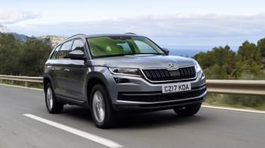 The Kodiaq is Skoda's largest SUV yet and boasts five and seven seat options