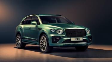 2020 Bentley Bentayga SUV - front 3/4 studio