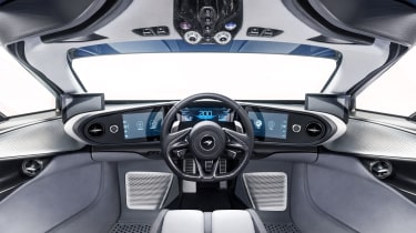 2020 McLaren Speedtail interior