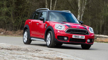 Despite being larger than any other MINI, the Countryman is still good fun to drive