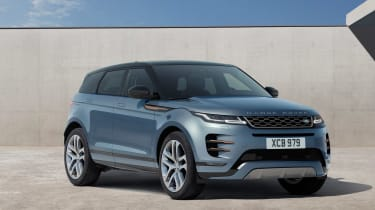 New Range Rover Evoque 2019 reveal front