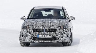 BMW 2 Series Active Tourer prototype - front view