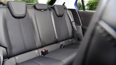 Vauxhall Corsa rear seats