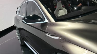 Distinctive styling lines run much of the QX50 Concept's length