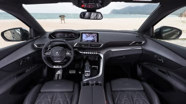 The 5008's dashboard is just like the 3008's - and that's excellent news