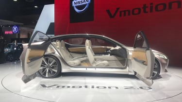 The rear doors open rearwards, and there's no centre pillar to inhibit access