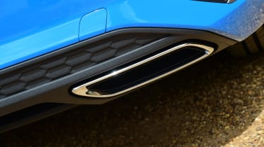 Audi A3 saloon rear bumper
