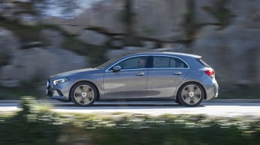 There's just one diesel engine on offer for now – the 1.5-litre A180d