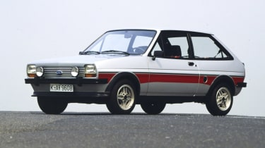 There had already been a fun-loving 1300 Sport version of the Fiesta and this became the basis for the rare and celebrated Fi