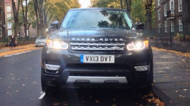 Range Rover Sport 2013 front static
