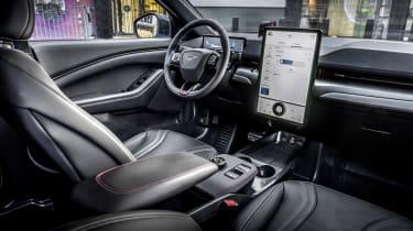 Ford Mustang Mach-E SUV interior