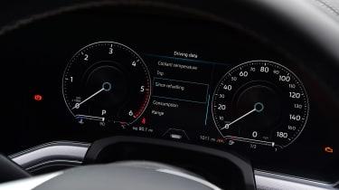 Volkswagen Touareg SUV digital instruments