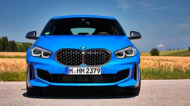 BMW M135i front end