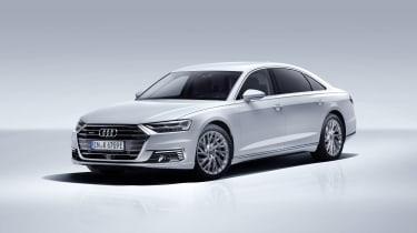 Audi PHEV A8 rear
