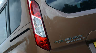 Ford Tourneo Connect MPV rear end detail