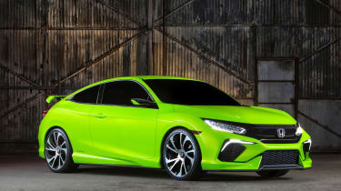 A broad range of colours will be available on the new Honda Civic