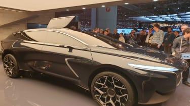 Lagonda All-Terrain SUV concept Geneva profile