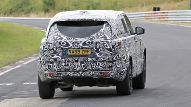 2022 Range Rover - rear on view