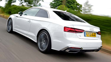 Audi A5 Coupe rear 3/4 tracking