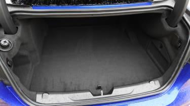 Jaguar XE saloon luggage space