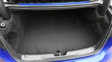 Jaguar XE saloon luggage space