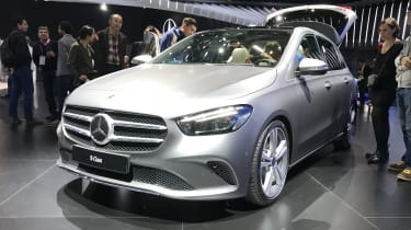 Mercedes B-Class front