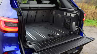 BMW X5 M Competition SUV tailgate