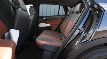 Volkswagen ID.4 SUV rear seats