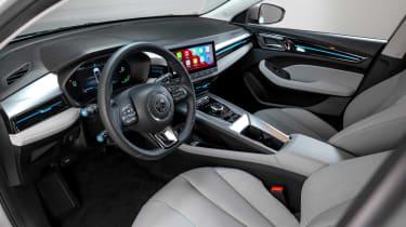 New MG 5 EV interior
