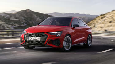 2020 Audi S3 Saloon driving