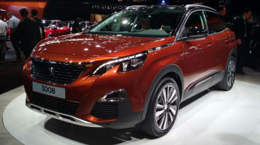 The Peugeot 3008 debuted at the 2016 Paris Motorshow