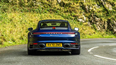 Porsche 911 coupe rear static