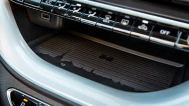 Fiat 500 hatchback dashboard