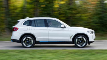 BMW iX3 SUV side panning