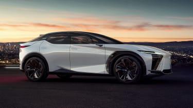 Lexus LF-Z concept - front 3/4 static