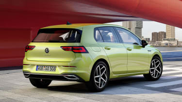 2020 Volkswagen Golf - rear view