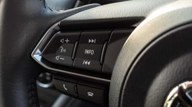Mazda2 steering wheel controls