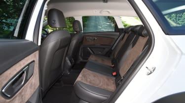 SEAT Leon X-Perience  - rear seats