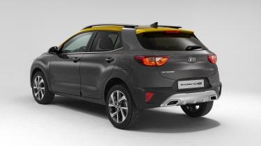 2020 Kia Stonic - rear 3/4 static view