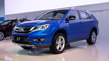 ...which gives the near-identical Chinese BYD S7 rather a head start