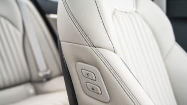 Genesis G70 saloon front seats