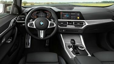 New BMW 4 Series Gran Coupe - interior