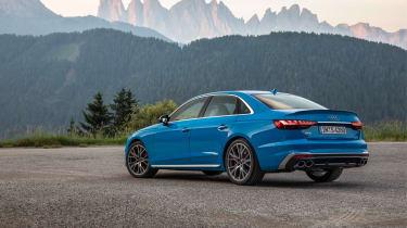 Audi S4 saloon rear 3/4 static
