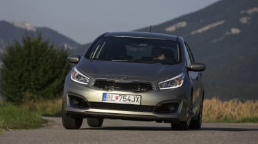 Instead Kia has concentrated on comfort and refinement, so there's some body lean in corners