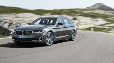 New 2020 BMW 5 Series Touring - front 3/4 static