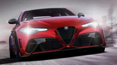 Alfa Romeo Giulia GTA front end