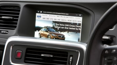 Infotainment system includes online connectivity