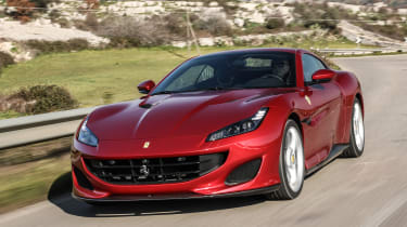 It might be the slowest Ferrari on sale, but the Portofino still gets from 0-62mph in 3.5 seconds