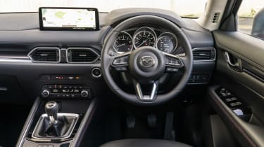 Mazda CX-5 Kuro interior
